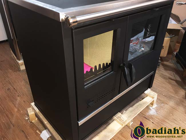 North Wood Cookstove with Domestic Hot Water