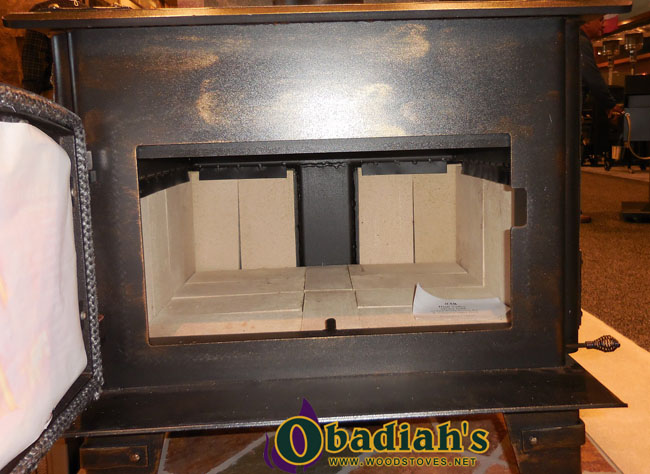 Obadiah's 1600 Firebrick Lined Firebox Obadiah's 1600 Non-Catalytic Stove - Obadiah's 1600 Non-Catalytic Stove By Obadiah's Woodstoves