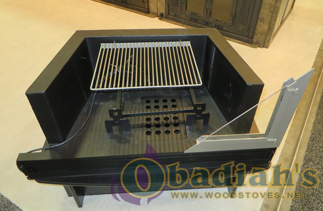 Obadiah's Fireplace Conversion Cookstove - cooking grate