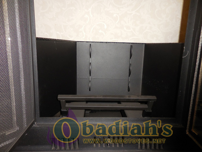 Obadiah's Fireplace Conversion Cookstove - firebox grate