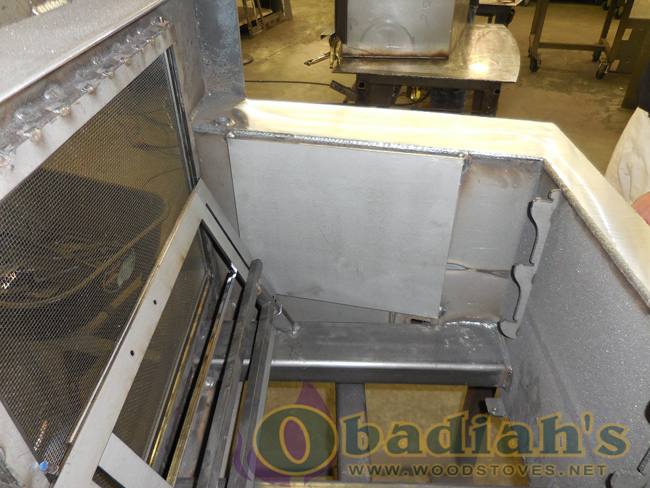 Obadiah's Fireplace Conversion Cookstove - assembly