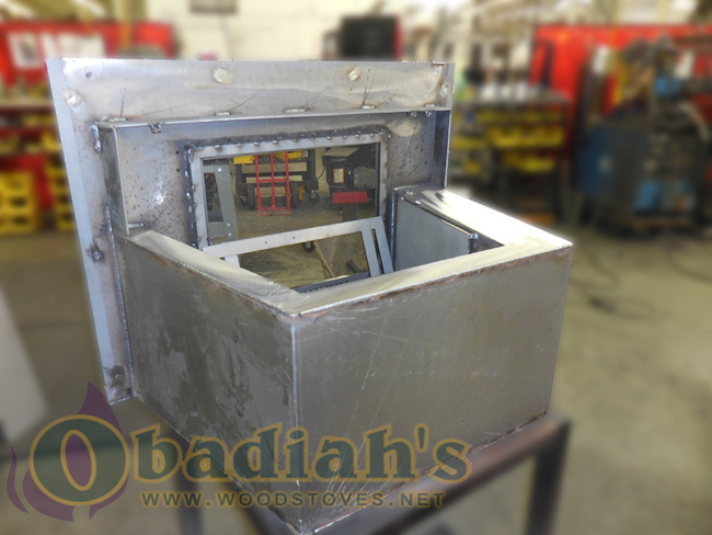 Obadiah's Fireplace Conversion Cookstove - steel construction