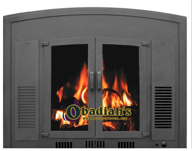 Obadiah's Fireplace Conversion Cookstove - charcoal