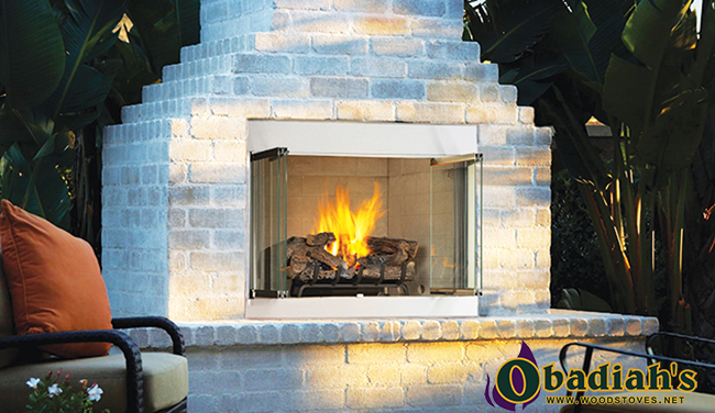 Astria Odyssey / Superior VRE3000 Outdoor Vent Free Gas Fireplace