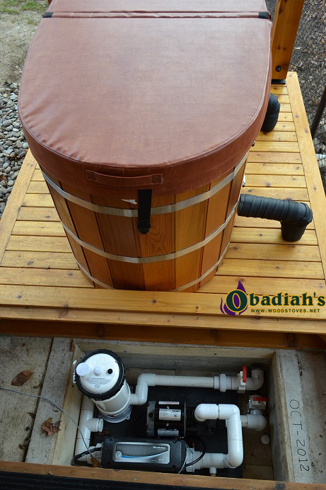 Northern Lights Ofuro Cedar Hot Tub By Obadiah S Woodstoves