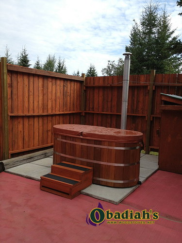 Ofuro Hot Tub at Obadiah's