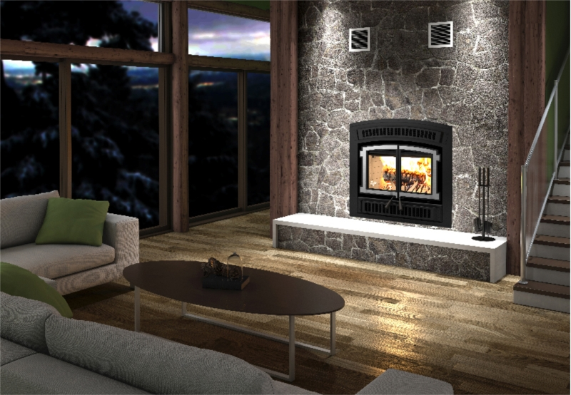 Ventis™ HE200 Wood Burning Fireplace