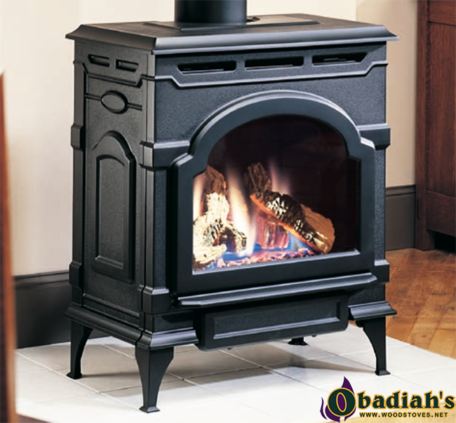 Majestic Oxford Cast Iron Direct Vent Gas Stove - Discontinued