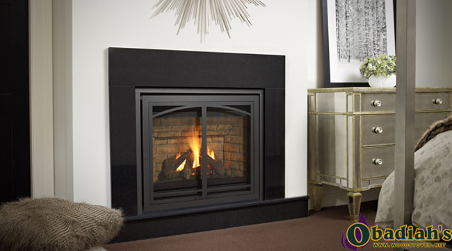 The Regency Panorama P33 Small Direct Vent Gas Fireplace is a small