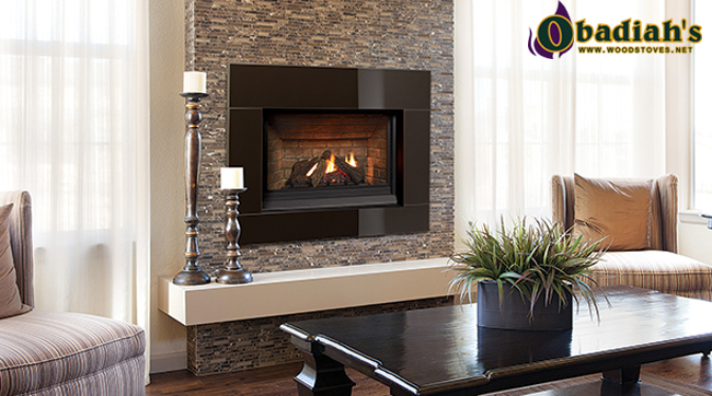 The Regency Panorama P33CE Small Direct Vent Gas Fireplace is a small