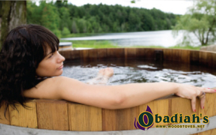 Cedar Hot Tubs at Obadiah's
