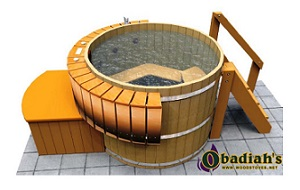 Northern Lights Classic Cedar HT4 Hot Tub