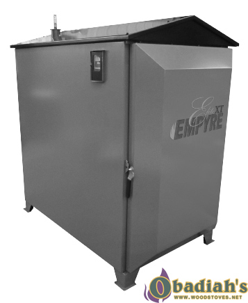 Empyre Elite XT 100 Indoor/Outdoor Wood Gasification Boiler/ Forced Air Furnace