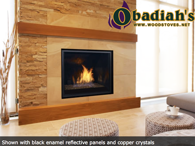 Regency horizon hz965e contemporary direct vent gas for Modern gas fireplace price