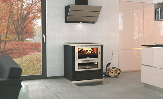Rizzoli ML80 Wood Cookstove