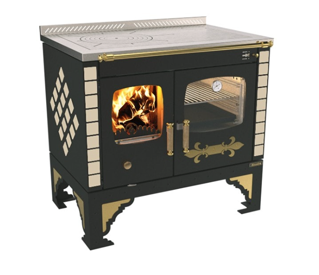 Rizzoli S90 Story Vintage Wood Burning Cook Stove