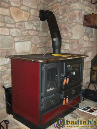 ABC Products Magnum Wood Cookstove - installation