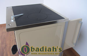 MBS Royal 720 Wood Cookstove - cooktop
