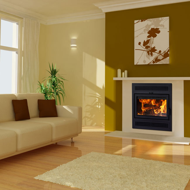 Supreme Astra 24TD ZC Wood Fireplace