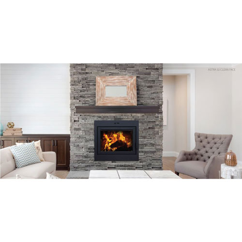 Supreme Astra 32 Zero Clearance Wood Fireplace