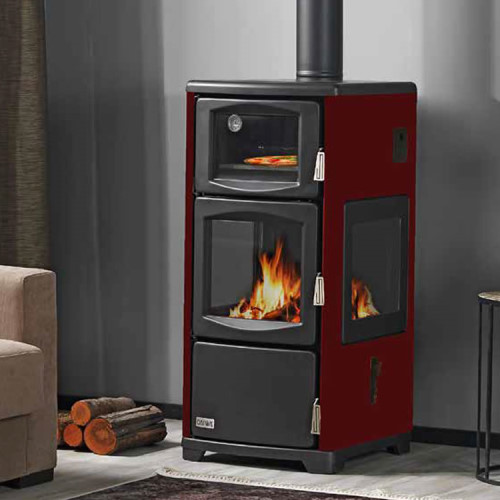 Teba Therm T-21 Central Heating Coal Cookstove