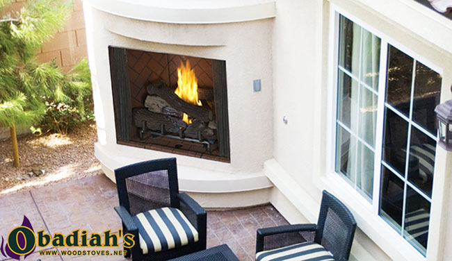 Superior VRE4500 Vent Free Outdoor Gas Fireplace by Obadiahs