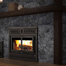 Valcourt Waterloo Wood Fireplace