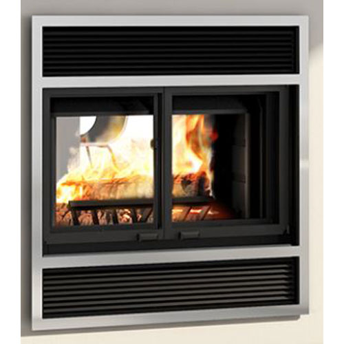 Valcourt Westmount See-Thru Wood Fireplace
