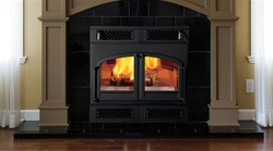 Vermont Castings Sequoia Cast Iron Wood Burning Fireplace