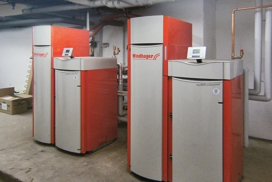 Windhager BioWIN 150 Automatic Boiler