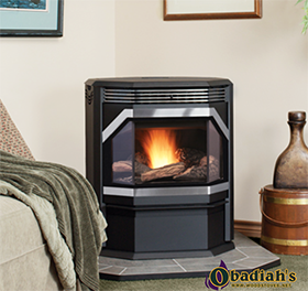 IronStrike Winslow Bay Window Pellet Stove