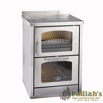 Domino 6 Maxi wood cookstove
