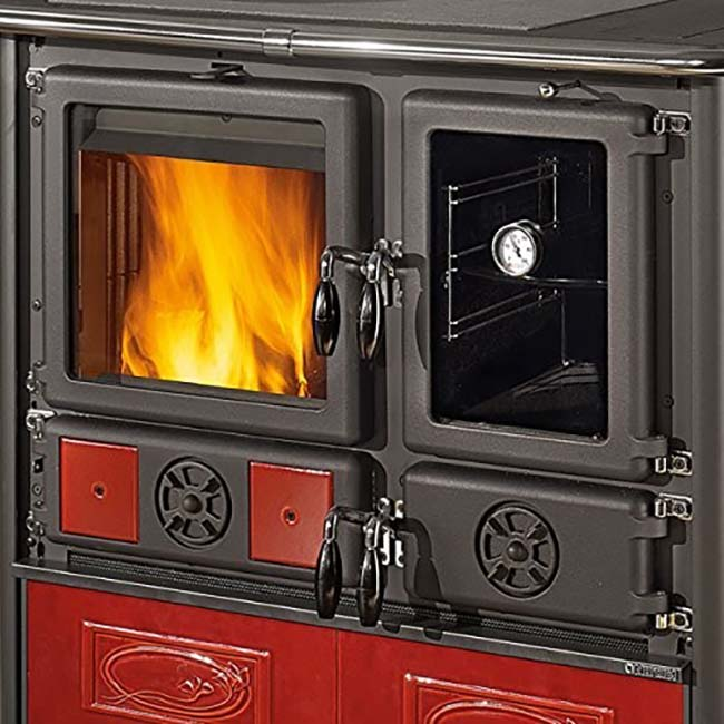 La Nordica Rosa Reverse Wood Cookstove