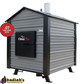 WoodMaster CleanFire EPA Outdoor Wood Boiler