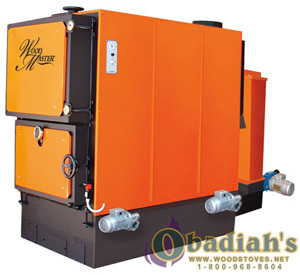 WoodMaster Commercial Pellet Boiler - Discontinued
