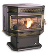P2000FS The Tahoe Breckwell Pellet Stove
