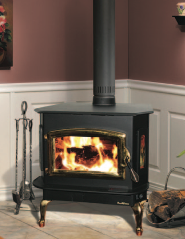 The Buck Bay Series 18 Stove or Insert offers high efficiency in a freestanding or insert model with your choice of surround and trim kit. Heats up to 2