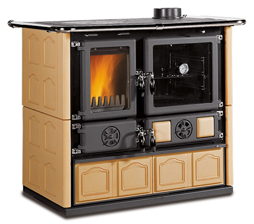 la nordica rosa maiolica cookstove by obadiah 39 s woodstoves. Black Bedroom Furniture Sets. Home Design Ideas