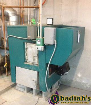 Keystoker Coal Hot Water Boiler