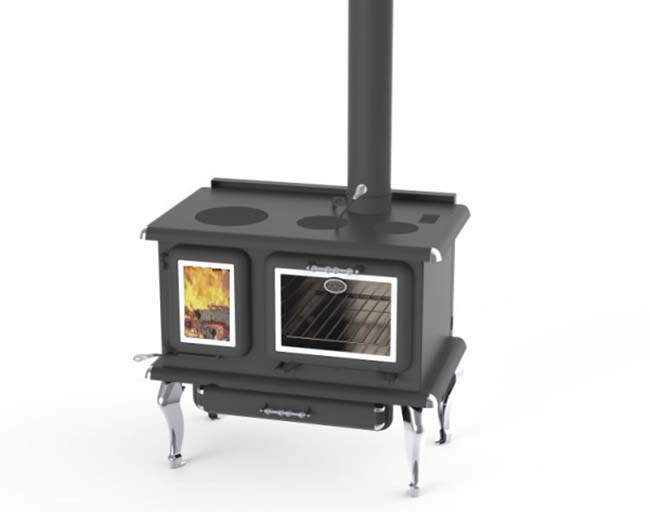 J.A. Roby Marmiton Wood Cook Stove