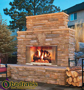 Majestic / Quadrafire Montana Outdoor Wood Fireplace