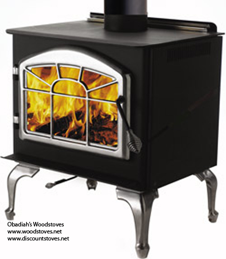 1100pl Napoleon Leg Model Wood Stove