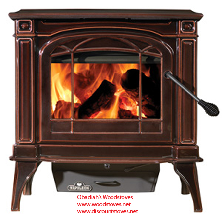 1100C Napoleon Cast Iron Wood Stove EPA Approved