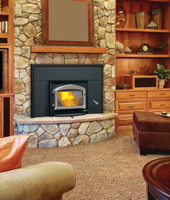 1101 Napoleon Wood Burning Fireplace Insert