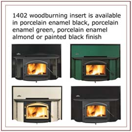 1402 Napoleon Wood Burning Fireplace Insert