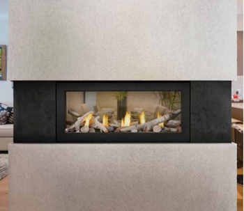 Napoleon L38 Acies Single Sided Linear Direct Vent Gas Fireplace