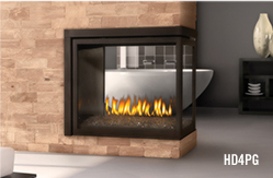 HD4PG Napoleon Peninsula Gas Fireplace