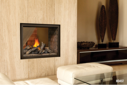 HD4ST Napoleon See Thru Gas Fireplace