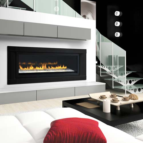 LHD50N2 Napoleon Linear High Definition Direct Vent Gas Fireplace See-Thru