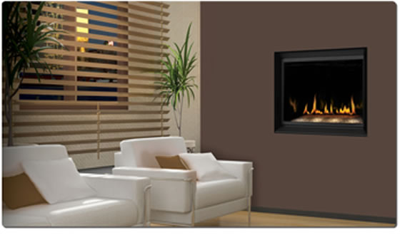 BGD36CFG Napoleon Crystallo™ Direct Vent Gas Fireplace